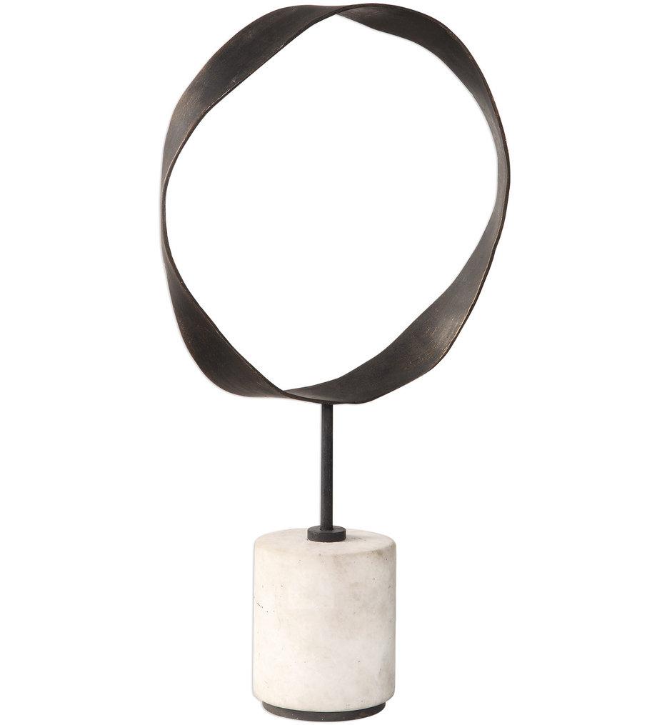 Rilynn Metal Ring Sculpture