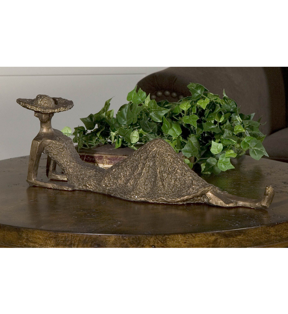 Summer Days Antique Bronze Sculpture