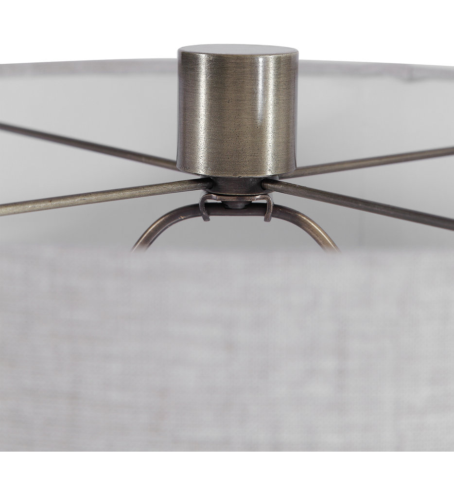 "White 24"" Table Lamp"