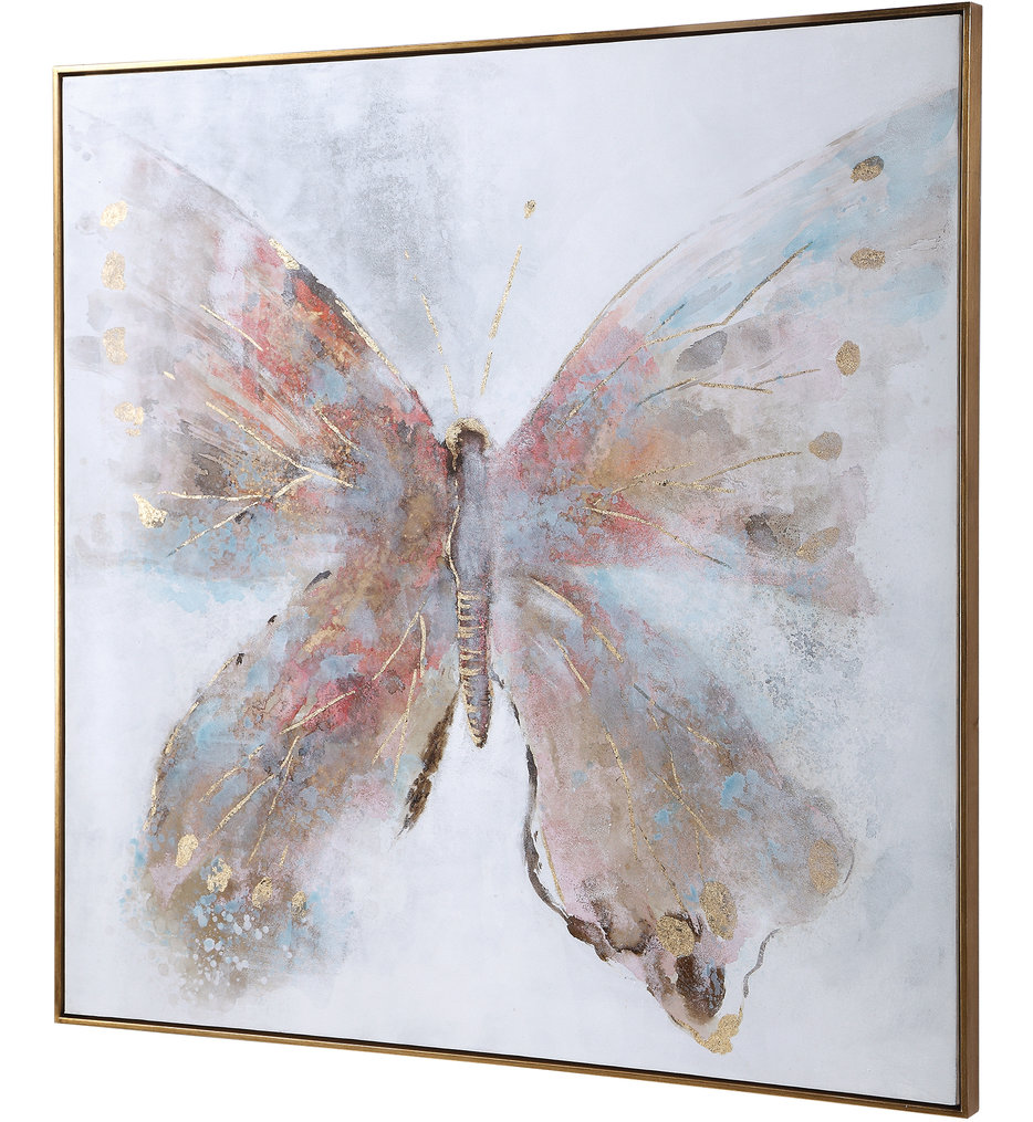 Free Flying Hand Painted Canvas