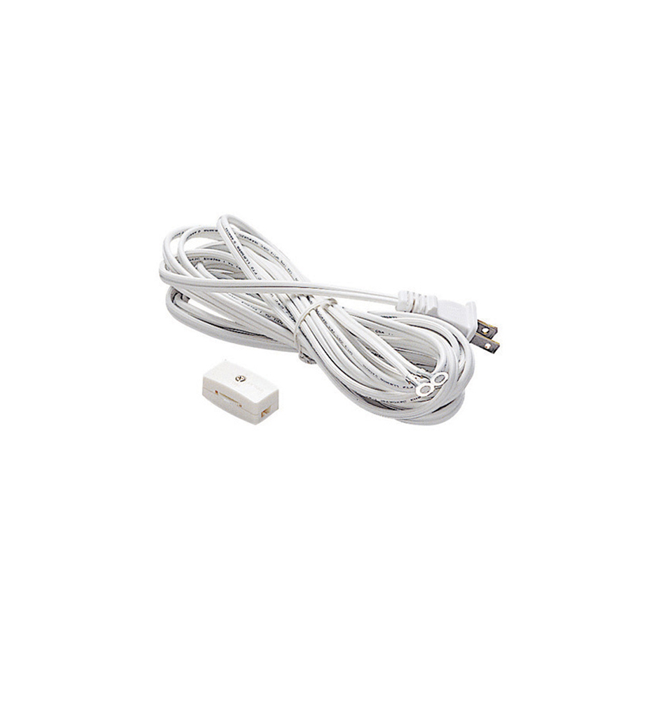15 Foot Cord with Plug & Switch