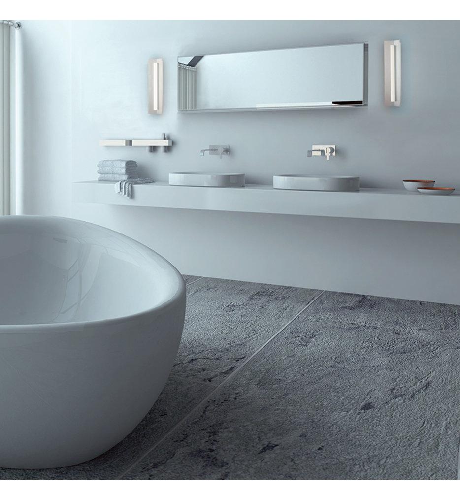 "Wedge 18"" Bath Vanity Light"